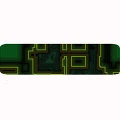 A Completely Seamless Background Design Circuit Board Large Bar Mats by Simbadda
