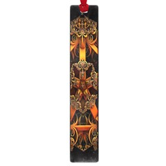 3d Fractal Jewel Gold Images Large Book Marks by Simbadda