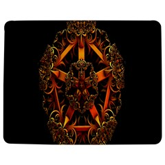 3d Fractal Jewel Gold Images Jigsaw Puzzle Photo Stand (rectangular)