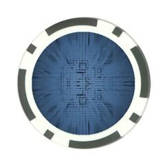 Zoom Digital Background Poker Chip Card Guard (10 Pack) by Simbadda