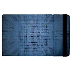 Zoom Digital Background Apple Ipad 3/4 Flip Case by Simbadda