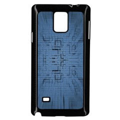 Zoom Digital Background Samsung Galaxy Note 4 Case (black)