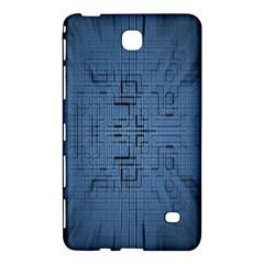 Zoom Digital Background Samsung Galaxy Tab 4 (7 ) Hardshell Case  by Simbadda