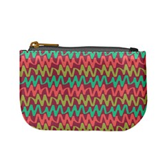 Abstract Seamless Abstract Background Pattern Mini Coin Purses by Simbadda