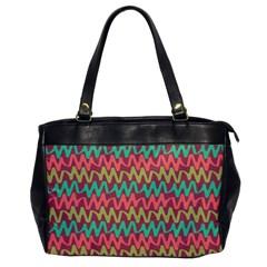 Abstract Seamless Abstract Background Pattern Office Handbags by Simbadda