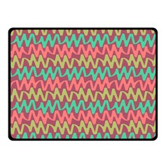 Abstract Seamless Abstract Background Pattern Double Sided Fleece Blanket (small)  by Simbadda