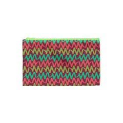Abstract Seamless Abstract Background Pattern Cosmetic Bag (xs) by Simbadda