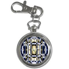 Colorful Seamless Pattern Vibrant Pattern Key Chain Watches by Simbadda