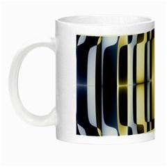 Colorful Seamless Pattern Vibrant Pattern Night Luminous Mugs by Simbadda