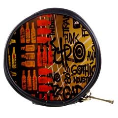 Graffiti Bottle Art Mini Makeup Bags by Simbadda