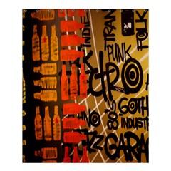 Graffiti Bottle Art Shower Curtain 60  X 72  (medium)  by Simbadda