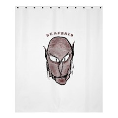 Scary Vampire Drawing Shower Curtain 60  X 72  (medium)  by dflcprints