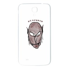 Scary Vampire Drawing Samsung Galaxy Mega I9200 Hardshell Back Case by dflcprints