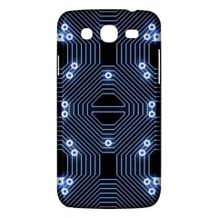 A Completely Seamless Tile Able Techy Circuit Background Samsung Galaxy Mega 5 8 I9152 Hardshell Case  by Simbadda