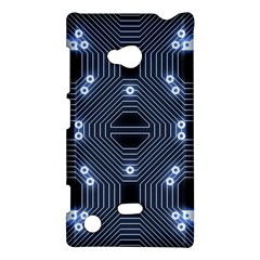 A Completely Seamless Tile Able Techy Circuit Background Nokia Lumia 720 by Simbadda