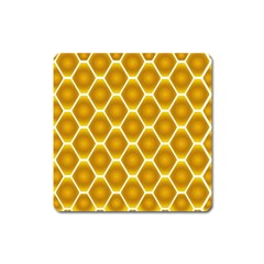Snake Abstract Background Pattern Square Magnet by Simbadda