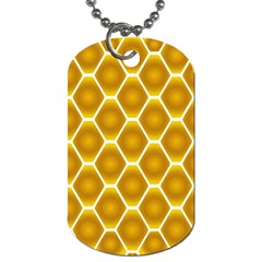 Snake Abstract Background Pattern Dog Tag (two Sides)