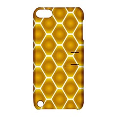 Snake Abstract Background Pattern Apple Ipod Touch 5 Hardshell Case With Stand by Simbadda