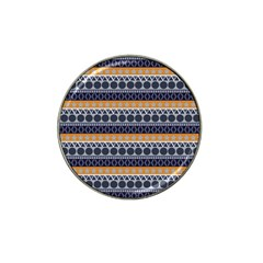 Seamless Abstract Elegant Background Pattern Hat Clip Ball Marker (4 Pack) by Simbadda