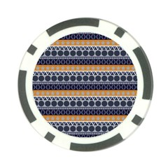 Seamless Abstract Elegant Background Pattern Poker Chip Card Guard by Simbadda