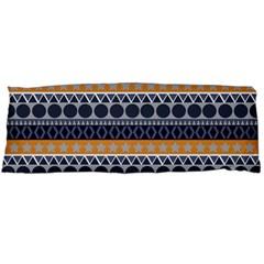 Seamless Abstract Elegant Background Pattern Body Pillow Case Dakimakura (two Sides) by Simbadda