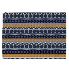 Seamless Abstract Elegant Background Pattern Cosmetic Bag (xxl)  by Simbadda
