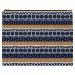 Seamless Abstract Elegant Background Pattern Cosmetic Bag (xxxl)  by Simbadda