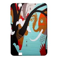 Colorful Graffiti In Amsterdam Kindle Fire Hd 8 9  by Simbadda