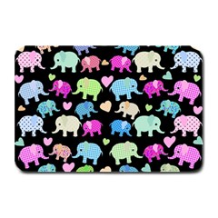 Cute Elephants  Plate Mats by Valentinaart