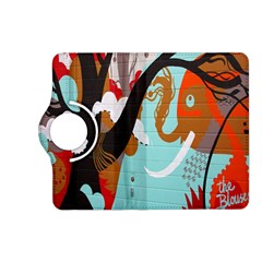 Colorful Graffiti In Amsterdam Kindle Fire Hd (2013) Flip 360 Case by Simbadda