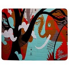Colorful Graffiti In Amsterdam Jigsaw Puzzle Photo Stand (Rectangular) by Simbadda