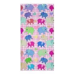 Cute Elephants  Shower Curtain 36  X 72  (stall)  by Valentinaart