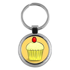 Cake Bread Pie Cerry Key Chains (round)  by Alisyart