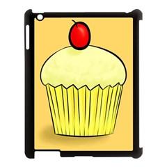 Cake Bread Pie Cerry Apple Ipad 3/4 Case (black) by Alisyart