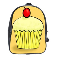 Cake Bread Pie Cerry School Bags (xl)  by Alisyart