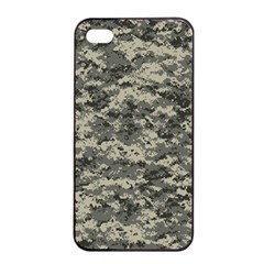 Us Army Digital Camouflage Pattern Apple Iphone 4/4s Seamless Case (black) by Simbadda