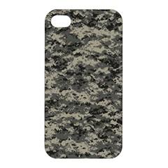 Us Army Digital Camouflage Pattern Apple Iphone 4/4s Hardshell Case by Simbadda