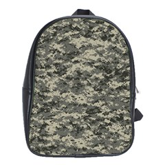 Us Army Digital Camouflage Pattern School Bags (xl)  by Simbadda