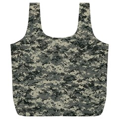Us Army Digital Camouflage Pattern Full Print Recycle Bags (l)  by Simbadda