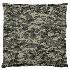 Us Army Digital Camouflage Pattern Standard Flano Cushion Case (one Side) by Simbadda