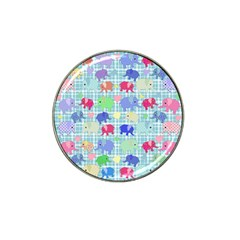 Cute Elephants  Hat Clip Ball Marker (10 Pack) by Valentinaart
