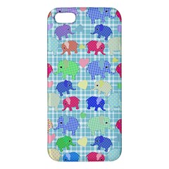 Cute Elephants  Apple Iphone 5 Premium Hardshell Case by Valentinaart