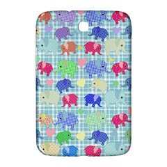 Cute Elephants  Samsung Galaxy Note 8 0 N5100 Hardshell Case  by Valentinaart