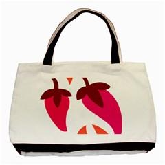Chili Basic Tote Bag by Alisyart