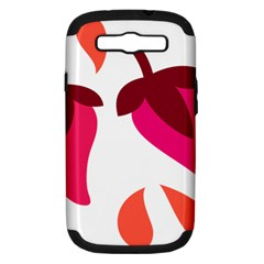 Chili Samsung Galaxy S Iii Hardshell Case (pc+silicone) by Alisyart