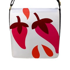 Chili Flap Messenger Bag (l)  by Alisyart