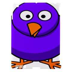Cartoon Bird Purple Apple Ipad 3/4 Hardshell Case (compatible With Smart Cover) by Alisyart