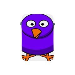 Cartoon Bird Purple Apple Ipad Mini Protective Soft Cases by Alisyart