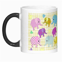 Cute Elephants  Morph Mugs by Valentinaart
