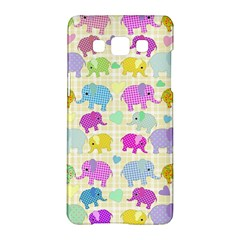 Cute Elephants  Samsung Galaxy A5 Hardshell Case  by Valentinaart